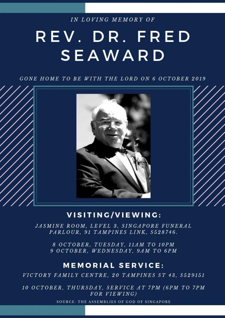 fred seaward funeral