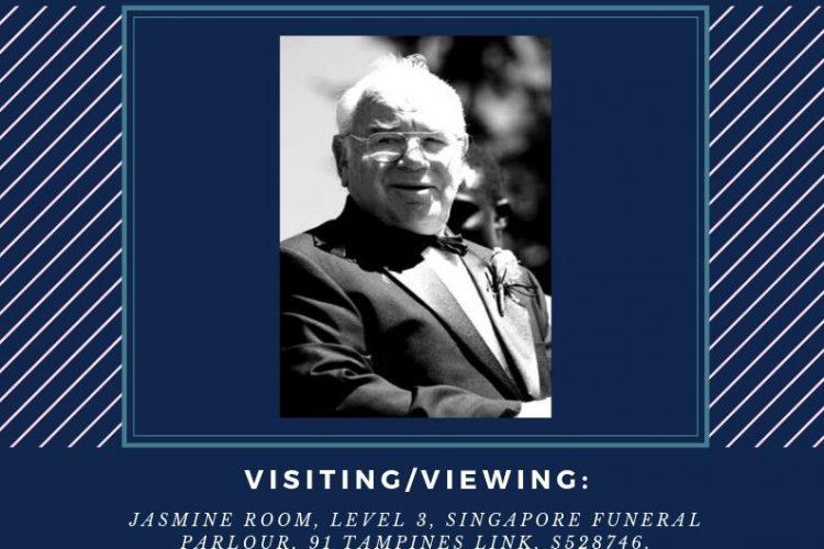 Rev. Dr. Fred Seaward Funeral/Wake Details