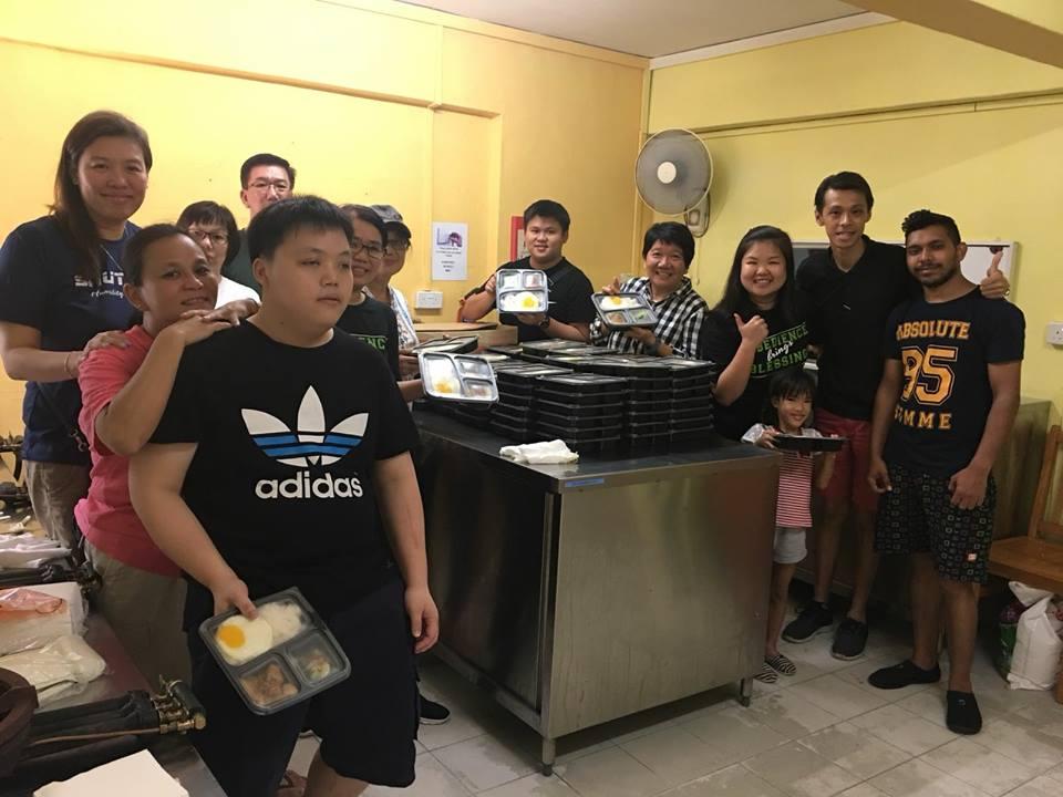 Awwa Home Food Distribution